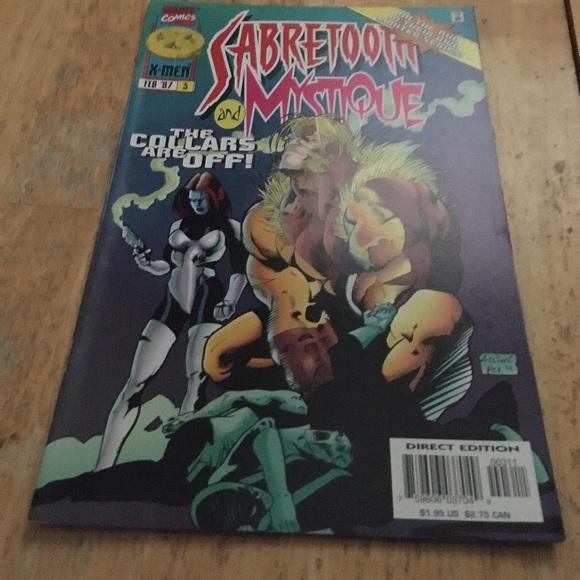 Sabertooth mystique comic